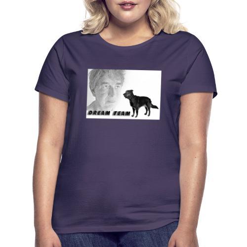 logo dinaa guenni - Frauen T-Shirt