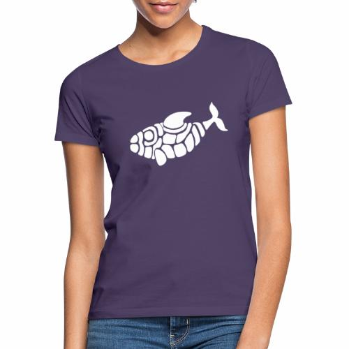 Fisch Muster Weisswal Tattoo Design T-Shirt - Frauen T-Shirt