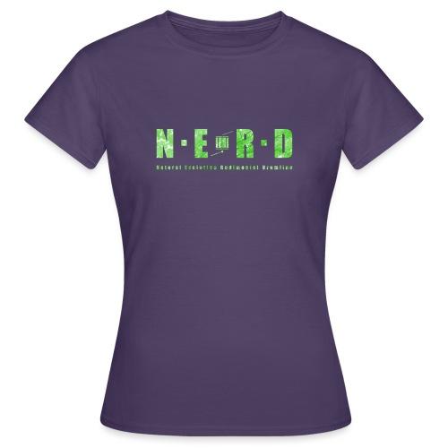 NERD Green - Dame-T-shirt