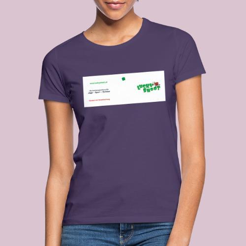 2020 06 26 Tasse Luckyshoot 80x215 print - Frauen T-Shirt