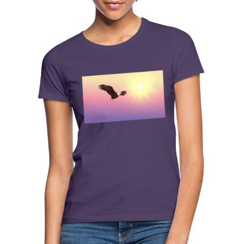 bald eagle 521492 1920 - Camiseta mujer