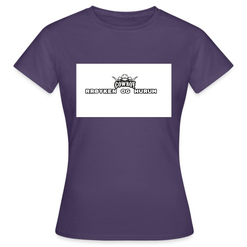 rh cowboys tshirt - T-skjorte for kvinner