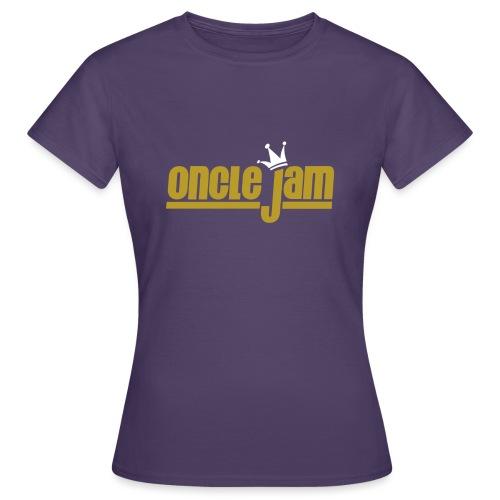 Oncle Jam horizontal or - T-shirt Femme