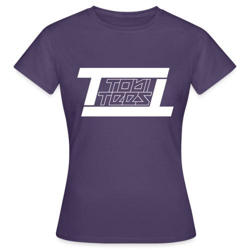 TobiTees 2020 logo white outline - Vrouwen T-shirt