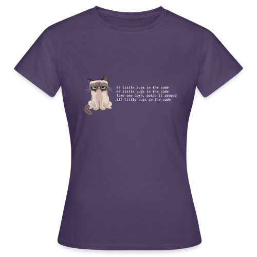 99bugs - white - Vrouwen T-shirt