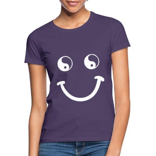 sorriso yoga hippie arte campeggio amore pace - Maglietta da donna
