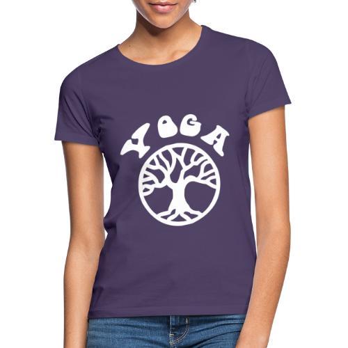 albero di yoga yogi namaste pace amore arte hippie - Maglietta da donna