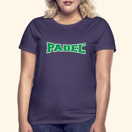 padel verde y blanco - Camiseta mujer