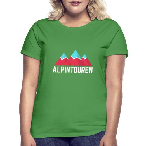 Alpintouren Logo - Frauen T-Shirt