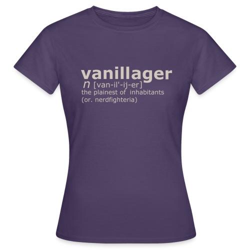 Vanillager - Women's T-Shirt
