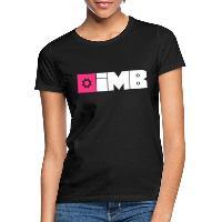 IMB Logo (plain) - Women's T-Shirt black