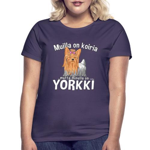 Yorkki Koiria - Naisten t-paita