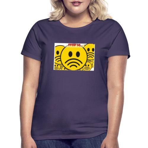 Stop ✋ T-shirt - Frauen T-Shirt