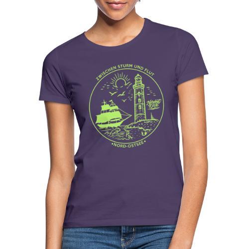 Schiff mit Leuchtturm - Frauen T-Shirt