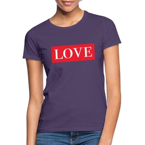 Red LOVE - Women's T-Shirt