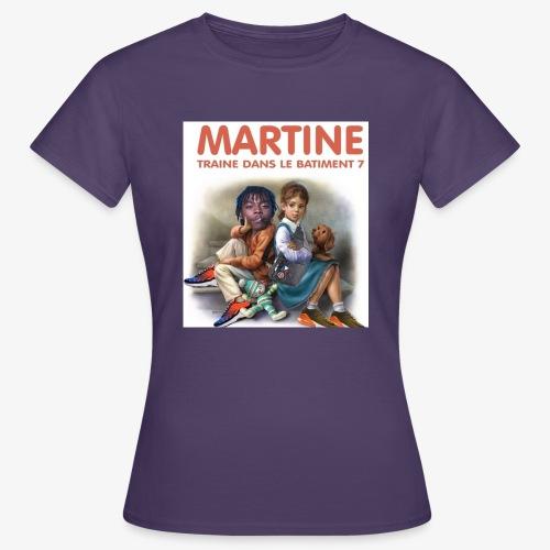 Martine-bat7 - T-shirt Femme