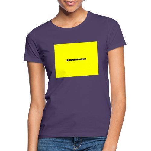 Sonnenpunkt schriftart - Frauen T-Shirt