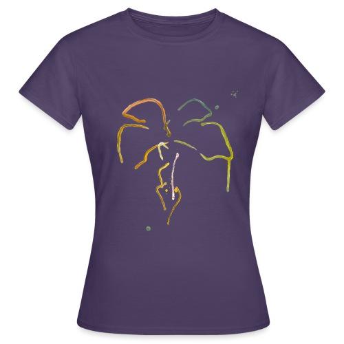 Malet palme - Dame-T-shirt