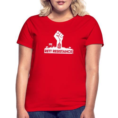 Rett Resistance - Army of Us - Women's T-Shirt