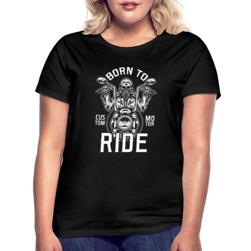Born To Ride Black Tazzum - Camiseta mujer