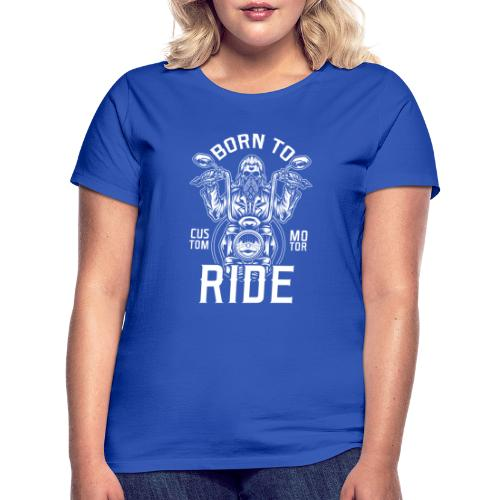 Born To Ride Black Tazzum - Camiseta mujer