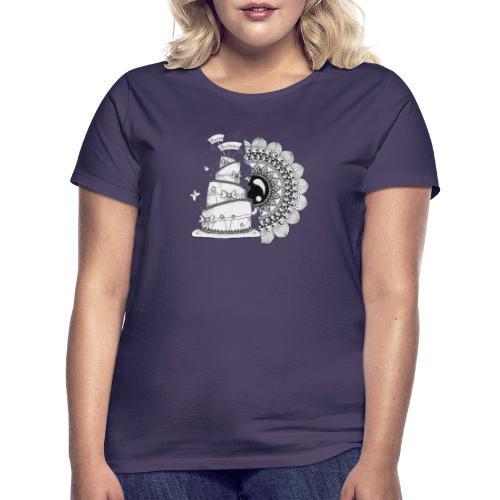 TortaMandala - Maglietta da donna