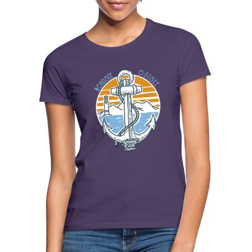 Ankerpunkt Nordsee Ostsee - Frauen T-Shirt