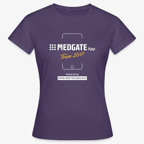 Medgate App Team 2017 Dark - Frauen T-Shirt