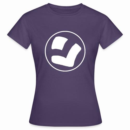 LaidPark White Logo - Naisten t-paita