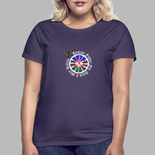 LennyhjulRomaniFolketivitfjerliskulle - T-shirt dam