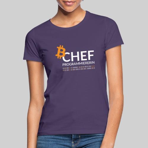 Chefprogrammiererin Dark - Frauen T-Shirt