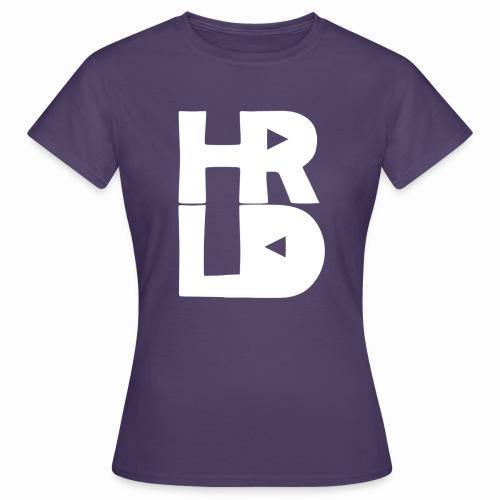 HRLD White Logo - Naisten t-paita