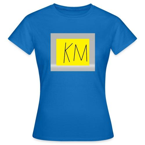 KM logo kleding - Vrouwen T-shirt