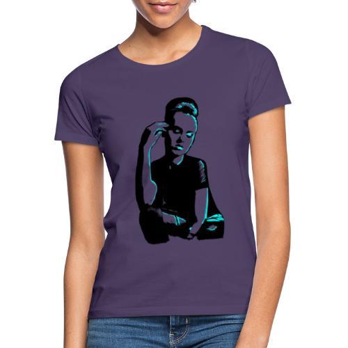 ATTITUDE (turquise) - Dame-T-shirt