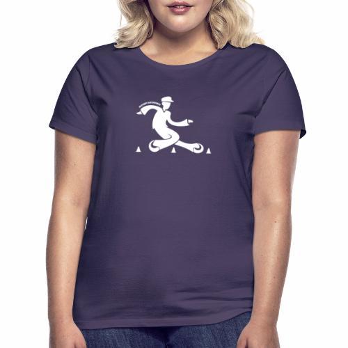 motif kompakombo blanc - T-shirt Femme