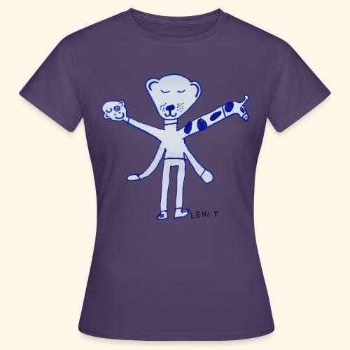 LeniT Teddy With a Twist - Naisten t-paita