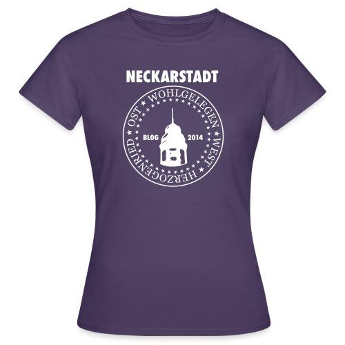 Neckarstadt – Blog seit 2014 (Logo hell) - Frauen T-Shirt