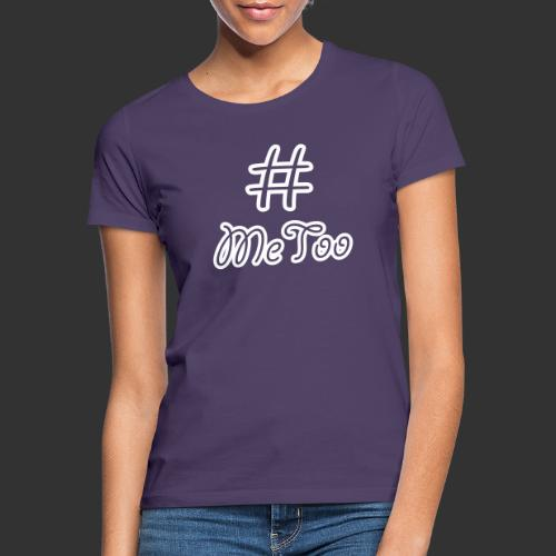 T-shirt dam Premium, Hashtag MeToo - T-shirt dam