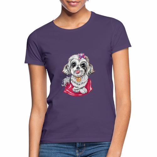 Perrita raza Shi Tzu SUSI - Camiseta mujer