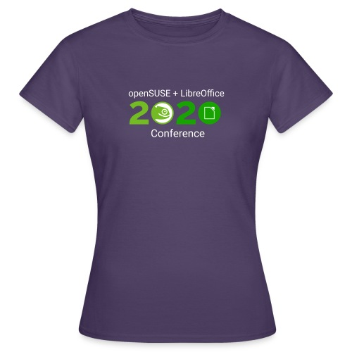 openSUSE + LibreOffice Conference 2020 - Women's T-Shirt