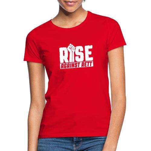 Rise against Rett - Women's T-Shirt