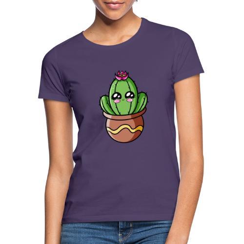 Cactus Kawaii - T-shirt Femme