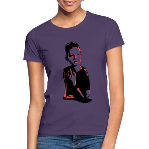 WOKE (peach) - Dame-T-shirt
