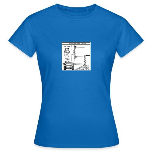 W.O.T War tactic, tank shot - Women's T-Shirt