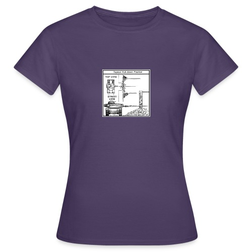 W.O.T War tactic, tank shot - Women's T-Shirt