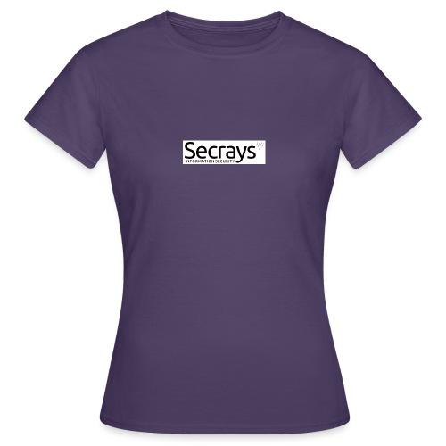 logo musta teksti - Naisten t-paita
