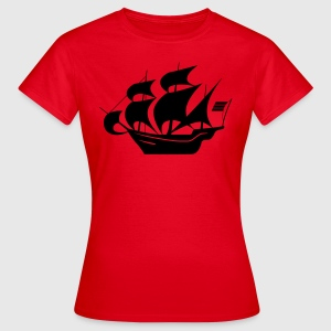 Segelboot - Frauen T-Shirt