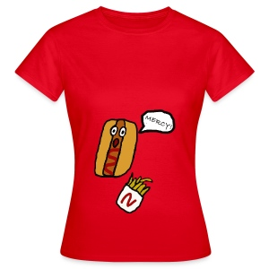 HOTDOG MERCY - Women's T-Shirt