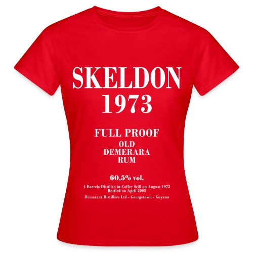Skeldon Label Velier Demerara Designs - Dame-T-shirt