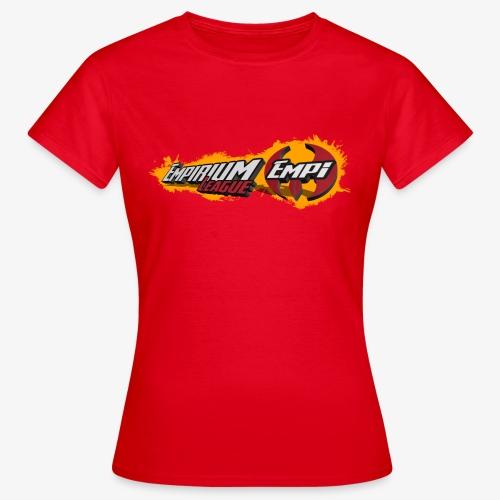 Logo EMPi fond jaune - T-shirt Femme